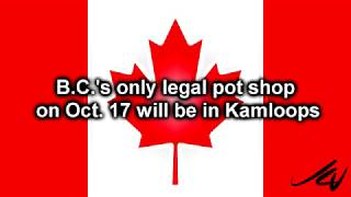 Less than 24 hrs to go for recreational marijuana sales coast to coast in Canada