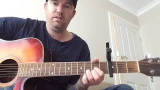 Hi easy song, I said hi by Amy shark acoustic guitar lesson..