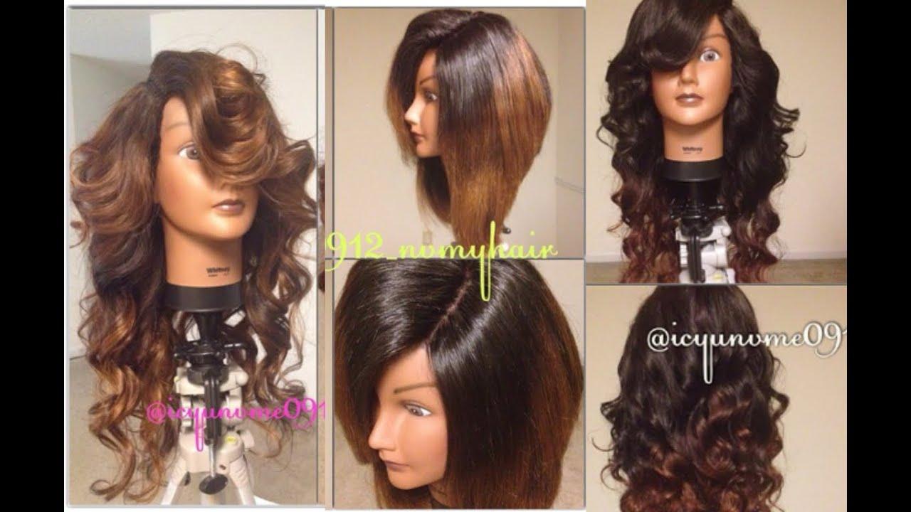 Versatile Sew-In Lace Closure Wig Tutorial | Part 3 - YouTube