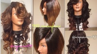 Versatile Sew-In Lace Closure Wig Tutorial | Part 3