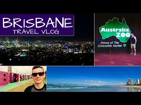BRISBANE 2017 TRAVELLING VLOG | Surfers Paradise, Australia Zoo & A DAY IN BRISBANE FOR FREE!!