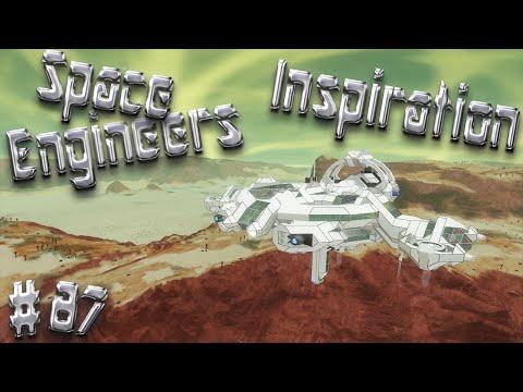 Space Engineers Inspiration - Episode 87: AX-10 Carrier, HMS Dark Run, & Sky Tree Yacht