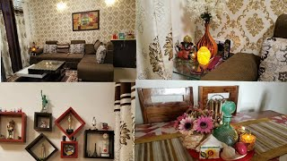 Indian House/Apartment Decorating Ideas | Indian Small living Room Tour | Indian Mom Studio