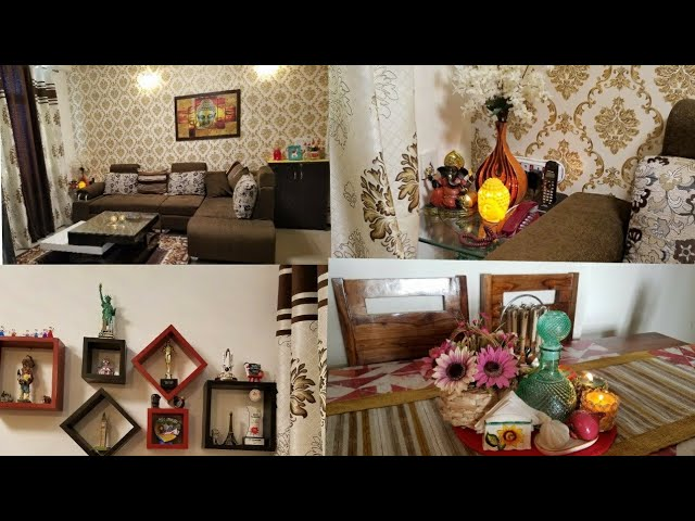 Indian House Apartment Decorating Ideas Indian Small Living Room Tour Indian Mom Studio Youtube