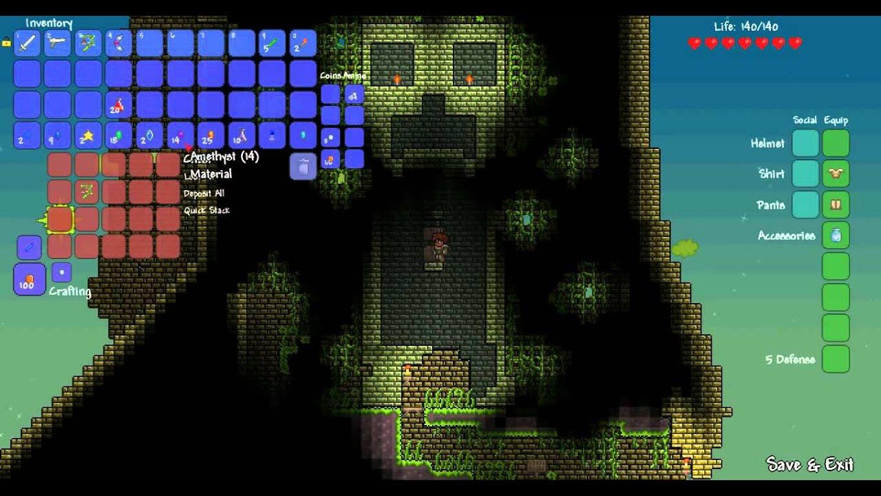 let s play terraria adventure maps qftd2 part 1 youtube