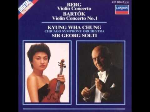 Bartok Violin Concerto 1 & Rhapsodies  - Kyung Wha Chung