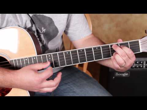 Traveling Wilburys inspired Acoustic Song - How to play Handle with Care Style Easy Chord Pro
