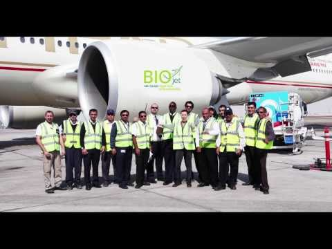 First UAE Produced Biofuel Flight - Etihad Airways