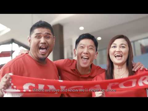 NDP 2017 Theme Song Because It's Singapore! (Karaoke) Children's version