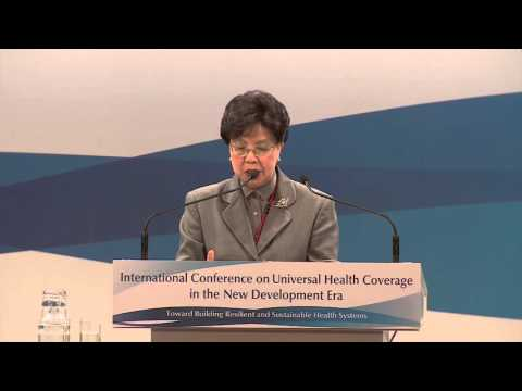 Global Leadership Address by Margaret Chan, Director-General, WHO
