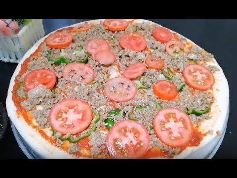 صورة  طريقة عمل البيتزا برومو طريقة عمل البيتزا بكل أسرارها من مطبخ اخترنا لك واحلى اكلات سهلة وسريعة طريقة عمل البيتزا من يوتيوب