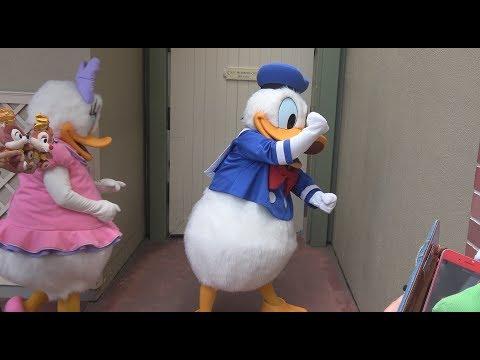 """TDL ドナルドのアイスクリーム事件「お見送りディズニー」""""Donald's Ice"""