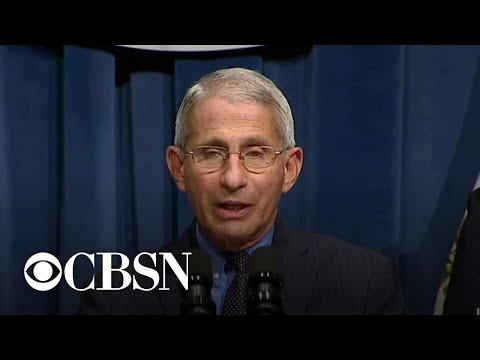 Dr. Fauci says young people driving