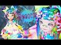 Harajuku Decora Kei 💙❤💜💛💚🌈 Girl Custom Doll Ever After High  Repaint