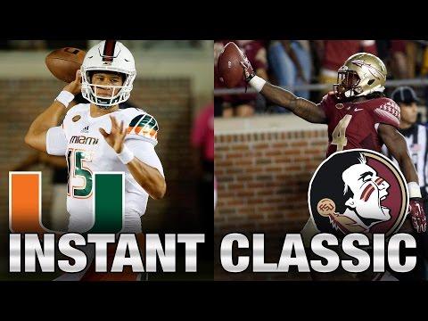 Instant Classic: Miami vs. Florida State Full Game | 2015 ACC Football