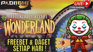 Live Playtech Pragmatic Adventures Beyond Wonderland Ini Game Gampang Banget Cok