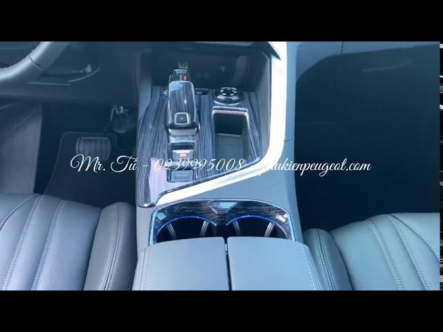 Ốp nội thất vân gỗ mun đen xe Peugeot 5008 Peugeot 3008 all new