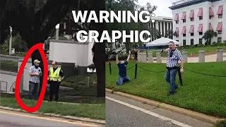 Tallahassee Protests: GUN pulled on BLM Jacob Blake Demonstrator, Capitol Building, Florida