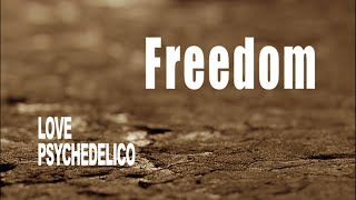 LOVE PSYCHEDELICO - Freedom