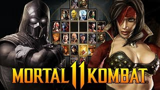 Mortal Kombat 11 - The Final 2 Roster Characters! - Who Will it Be??
