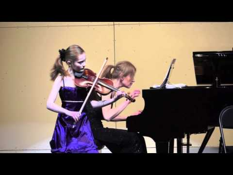 Pablo de Sarasate: Malagueña  op. 21 für Violine und Klavier, Noa Wildschut