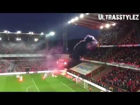 Sfeer Tijdens Het Gestaakte Duel Standard Luik-Anderlecht