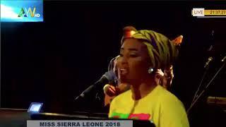 Miss Sierra Leone 2018