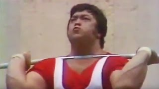 1980 Olympic Weightlifting.