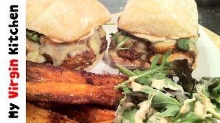 Cajun Chicken Burgers - Myvirginkitchen