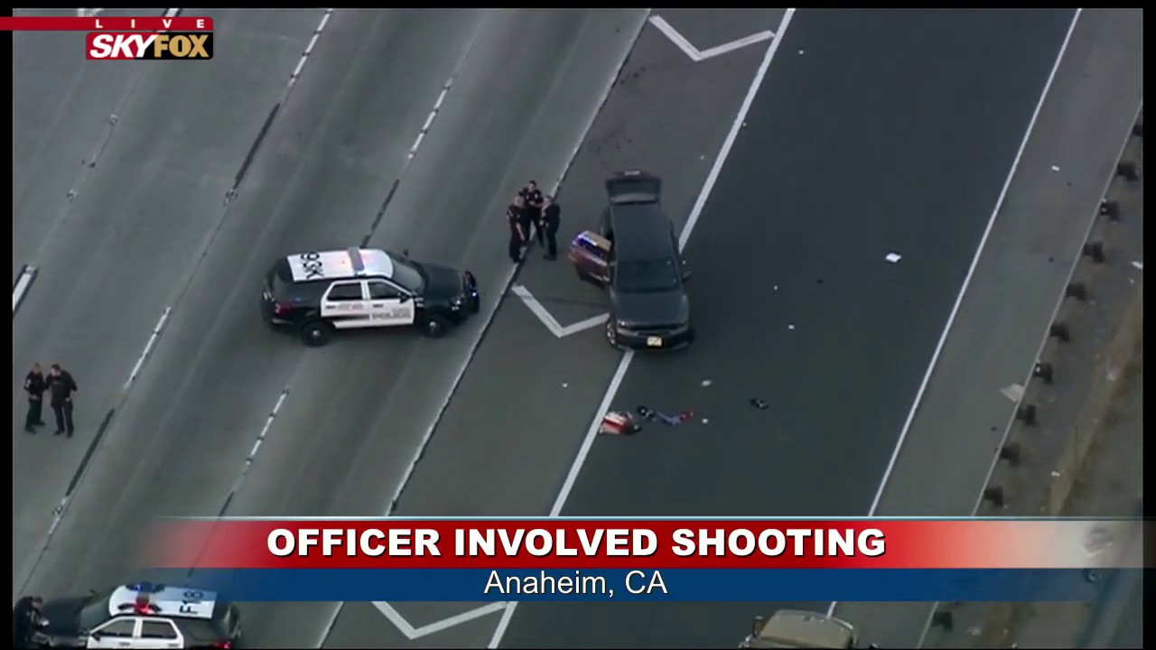 CALIFORNIA FREEWAY SHUT DOWN: Police incident backs up traffic
