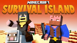 CAVE HUNTING ★ Minecraft Survival Island (5)