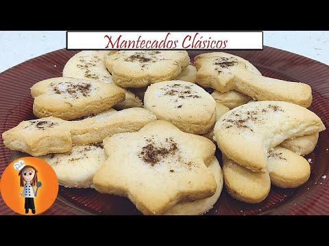 Mantecados clásicos | Receta de Cocina en Familia