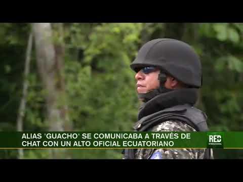 RED+ | Alias 'guacho' Se Comunicaba A Través De Chat Con Un Alto Oficial Ecuatoriano