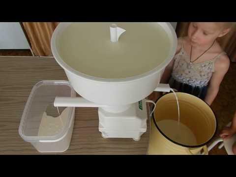 Как сепарировать молоко
