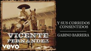 Vicente Fernández - Gabino Barrera (Cover Audio) Video