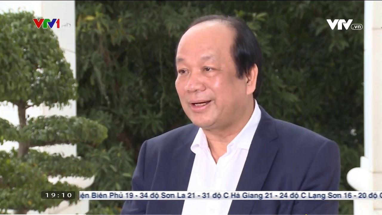 Bộ trưởng văn phòng chính phủ Mai Tiến Dũng trả lời VTV về chỉ thị 16 của Thủ Tướng