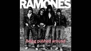Ramones - Today Your Love, Tomorrow the World - Lyrics