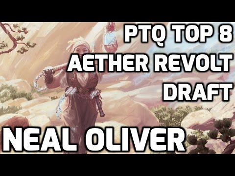 PTQ Top 8 Aether Revolt Draft Drafting