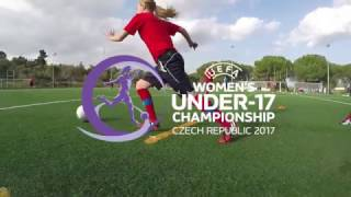 Mistrovství Evropy fotbalistek do 17 let - Czech team (ME WU17)
