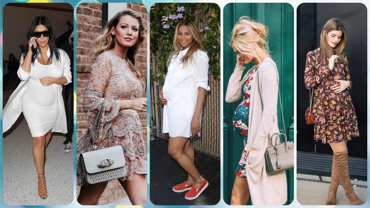 Las 20 Modelos De Vestidos Elegantes Para Embarazadas 2018