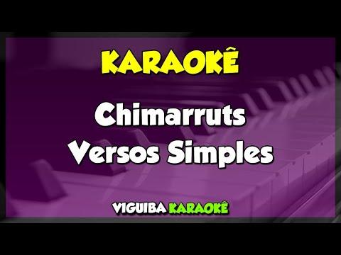 Versos Simples - Chimarruts  VERSÃO KARAOKÊ