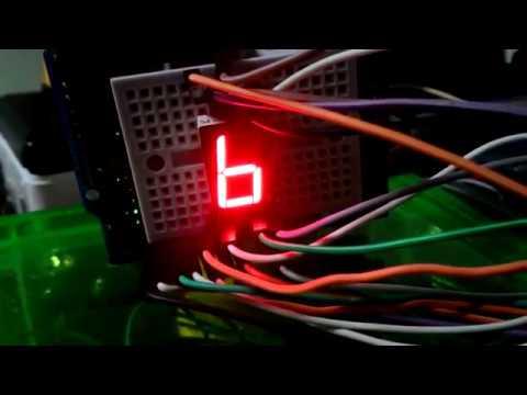 แบบฝึกหัดที่ 12 โปรแกรมแสดงผล LED 7 s