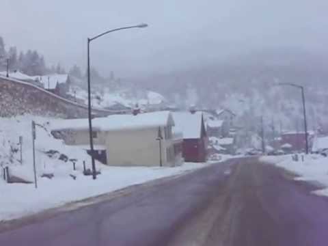 A springtime drive through Black Hawk, Colorado