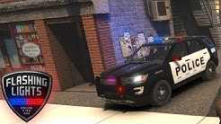 Flashing Lights Game - Police Shift! - Simul8 Gaming