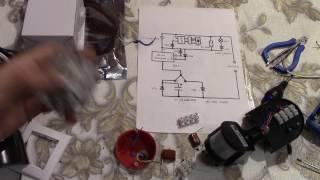 Датчик движения на потолке , люстра и лента . Схема подключения с проходным выключателем .(Специализированная селективная схема подключения датчика движения , люстры , светодиодной ленты и проходн..., 2016-11-16T02:13:23.000Z)