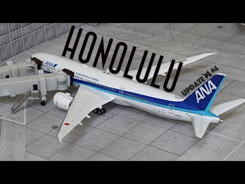 [Homemade] 1/400 Daniel K. Inouye Honolulu International Airport | Update #4