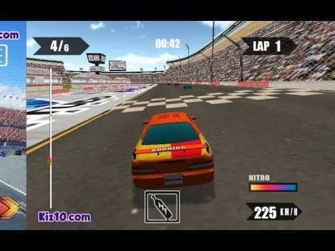 course sur les voitures, 3D Racing Turbo 2015, jeux pour enfants