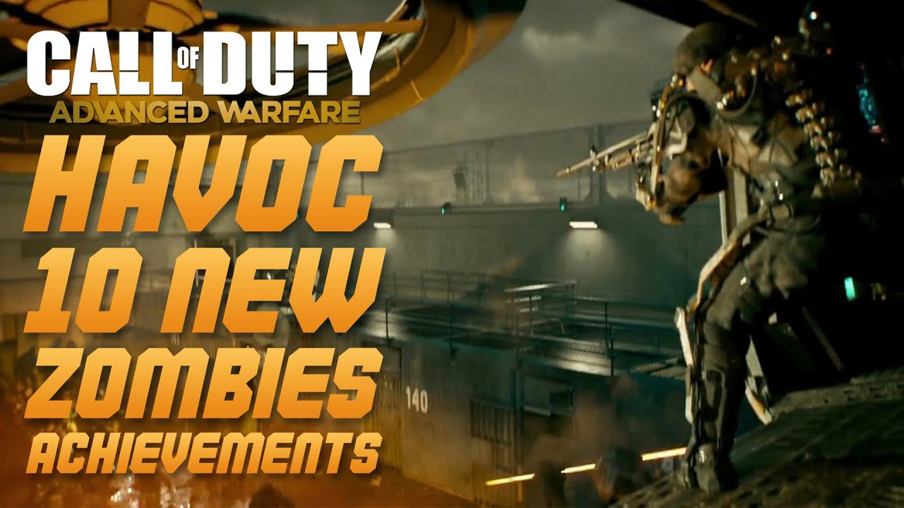 Call of Duty: Advanced Warfare - 10 NEW EXO ZOMBIES ... Call Of Duty Advanced Warfare Havoc Zombies