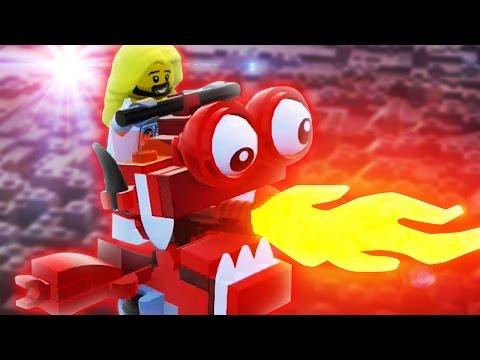 DAS TEIL KANN MAN REITEN ??   Lego Worlds #3