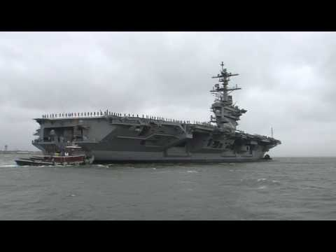 USS Abraham Lincoln (CVN 72) Redelivered to U.S. Navy